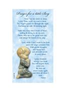 Laminated Holy Cards Prayer Little Boy