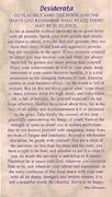 Holy Cards (pkt100): Desiderata