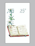 Laminated Holy Cards Pure: 25th Anniversary #2