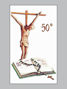 Laminated Holy Cards Pure: 50th Anniversary