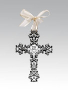 Baby Cross: Filigree Baptism