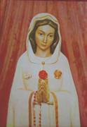 10 x 8 Print: Rosa Mystica