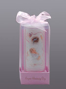 Christening Candle: Girl