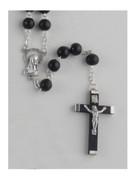 Wooden Rosary: Black 8mm (RXL02K)