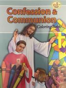 Childrens Colouring Book (StJCB) - Confession and Communion