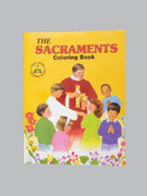 Childrens Colouring Book (StJCB) - The Sacraments