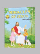 Childrens Colouring Book (StJCB) - Miracles of Jesus
