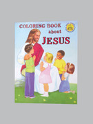 Childrens Colouring Book (StJCB) - All About Jesus