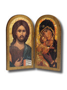 Quality Wood Plaque: Bi-fold Icon (PL43)