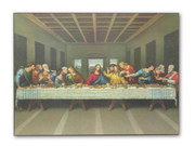 Wood Plaque: Last Supper (PL122413)