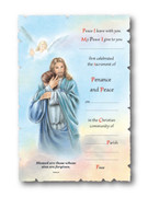 Reconciliation Certificate Scroll Look Jesus Hugging (CER040)