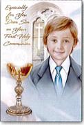 Communion Cards (Pkt6): Son