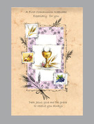 Communion Keepsake: Communion