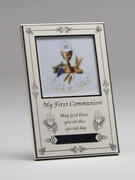 Communion Gift: Photo Frame, Small, Antique White(PLC1852)