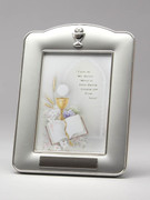 Communion Gift Photo Frame, Silver Finish(PLC1883)