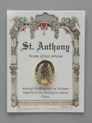 Patron Saint Pin: St Anthony Patron of Lost Articles (TS18)