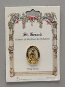 Patron Saint Pin: St Gerard Patron of Mothers (TS26)