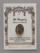 Patron Saint Pin: St Gregory Patron of Musicians (TS25)