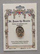 Patron Saint Pin: St James Patron of Labourers (TS22)
