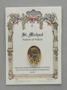 Patron Saint Pin: St Michael Patron of Police (TS04)