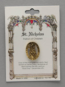 Patron Saint Pin: St Nicholas Patron of Children (TS43)