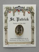 Patron Saint Pin: St Patrick Patron of the Irish (TS14)