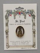 Patron Saint Pin: St Paul Patron of Authors (TS09)