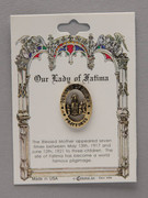 Lapel Pin Our Lady of Fatima (TS38)