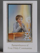 Children's Missal: 1st Communion Paperback Boy(BK4110B)