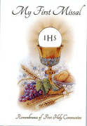 Children's Missal, 1st Communion Hardback Symbol