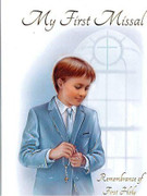 Children's Missal, 1st Communion Hardback Boy(BK4120B)