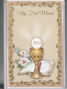 Children's Missal, 1st Communion Padded Cover Symbol (BK4124S)