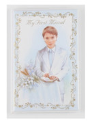 Children's Missal, 1st Communion Padded Cover Boy