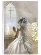 Children's Missal, 1st Communion Padded Cover Girl (BK4124G)