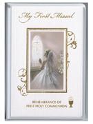 Children's Missal: Pearl Shimmer Cover: 1st Communion Girl(BK4128G)