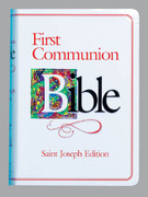 Children's Bible: First Communion Bible Girl (0899429564)