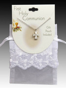 Pearl Cross Pendant and Chain (JE9326P)