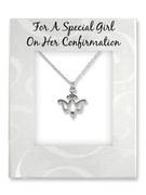 Confirmation Gift: Dove Pendant and Chain (PL302)