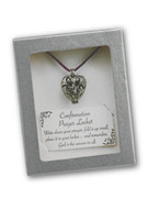 Confirmation Gift, Prayer Locket and Cord (PL217)