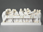 LAST SUPPER relief Statue 35cm