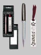 Gift Set: Bookmark & Pen: With God...