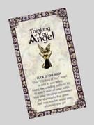 Thinking of You Angel Pin: Luck of the Irish
