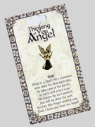 Thinking of You Angel Pin: Dad