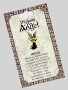 Thinking of You Angel Pin: Serenity