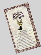 Thinking of You Angel Pin: I Love You