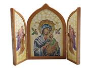 Tri-fold Plaque:  Our Lady Perpetual Succour (PL112433)