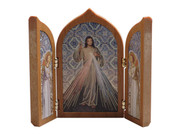 Tri-fold Plaque: Divine Mercy (PL112458)