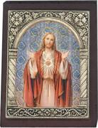 Desk Plaque: Sacred Hart of Jesus (PL27301)