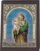 Desk Plaque : St Joseph (PL27316)