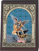 Desk Plaque: St Michael (PL27319)